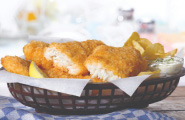 BATTERED HADDOCK